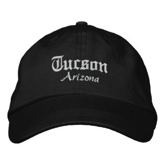 tucson bold embroidered baseball caps