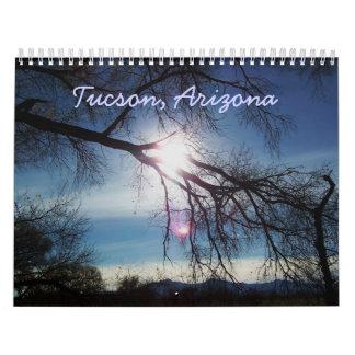 Tucson, calendario de Arizona 2010