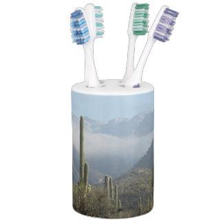 Tucson Desert Soap Dispenser & Toothbrush Holder