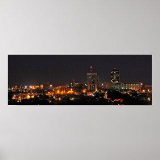 Tucson en la noche posters