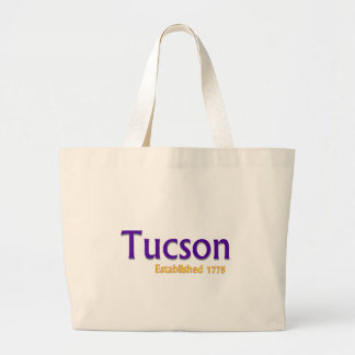 Tucson estableció bolsa tela grande