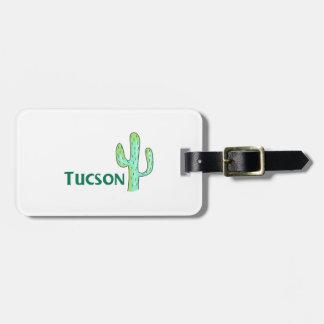 Tucson Etiquetas Maletas