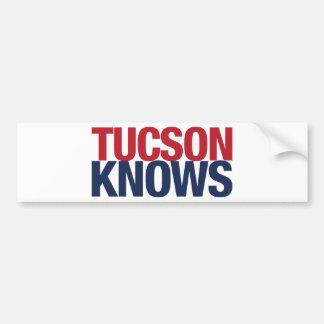 Tucson Knows Bumper Sticker