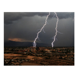 Tucson Lightning Postcard