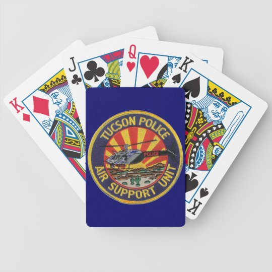 tucson police air unit playing cards