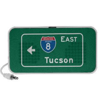 Tucson, señal de tráfico de AZ Altavoces De Viaje