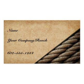 Tucson Western Business Card