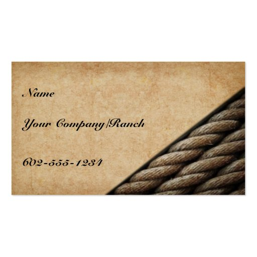 Western business card templates page4 bizcardstudio tucson western business card colourmoves
