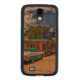Tucumcari, nanómetro - Rt 66 Funda De Galaxy S4 Slim Cerezo
