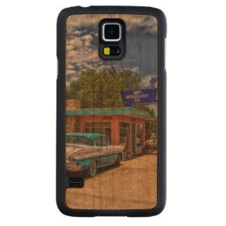 Tucumcari, nanómetro - Rt 66 Funda De Galaxy S5 Slim Cerezo