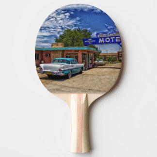 Tucumcari, nanómetro - Rt 66 Pala De Tenis De Mesa