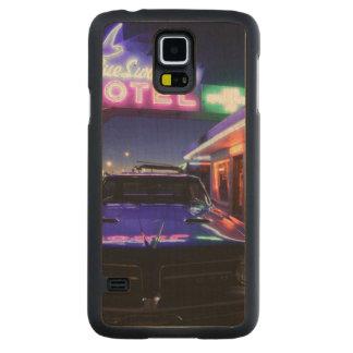 Tucumcari, New México, Estados Unidos. Ruta 66 2 Funda De Galaxy S5 Slim Arce