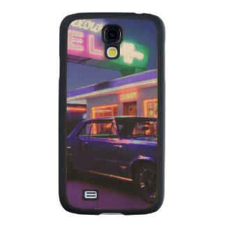Tucumcari, New México, Estados Unidos. Ruta 66 2 Funda De Galaxy S4 Slim Arce