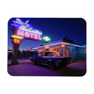Tucumcari, New México, Estados Unidos. Ruta 66 2 Imán Flexible