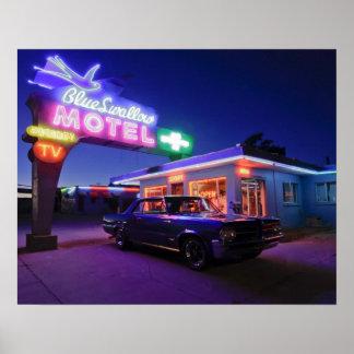 Tucumcari, New México, Estados Unidos. Ruta 66 2 Poster