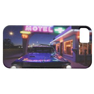 Tucumcari New México Estados Unidos Ruta 66 iPhone 5 Case-Mate Funda