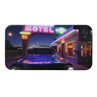 Tucumcari, New México, Estados Unidos. Ruta 66 Funda Para iPhone 4 De Case-Mate