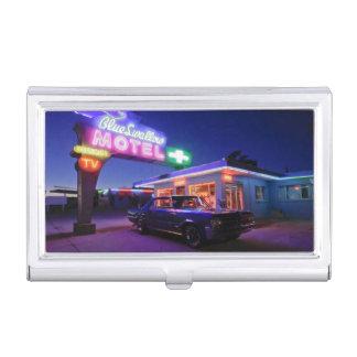 Tucumcari, New Mexico, United States. Route 66 2 Business Card Case