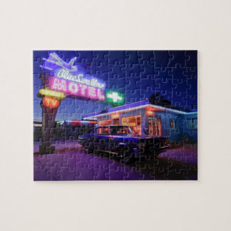 Tucumcari, New Mexico, United States. Route 66 2 Jigsaw Puzzle