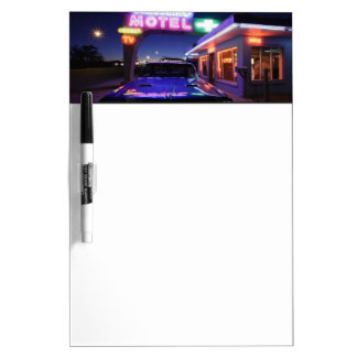 Tucumcari, New Mexico, United States. Route 66 Dry-Erase Board