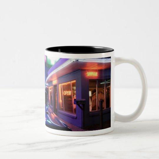 Tucumcari, New Mexico, United States. Route 66 Two-Tone Coffee Mug