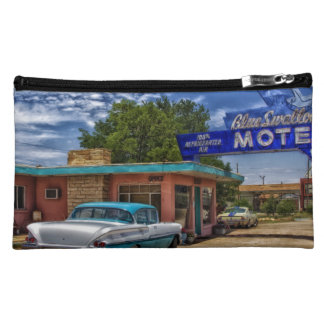 Tucumcari, NM - Rt 66 Cosmetic Bags