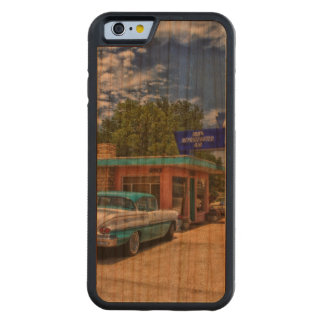 Tucumcari, NM - Rt 66 Carved® Cherry iPhone 6 Bumper