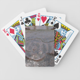 Tudor antiguo subió baraja cartas de poker