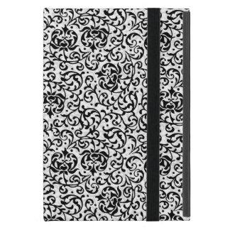 Tudor blanco y negro elegante cultiva un huerto iPad mini carcasa