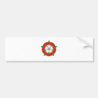 Tudor de Inglaterra subió Etiqueta De Parachoque