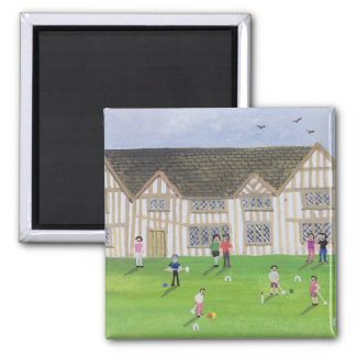 Tudor House 1995 2 Inch Square Magnet
