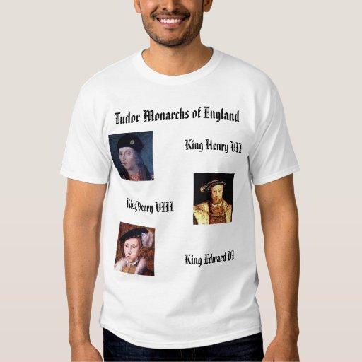 Tudor Monarchs of England Shirt