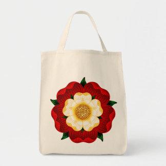 Tudor Rose Canvas Bag