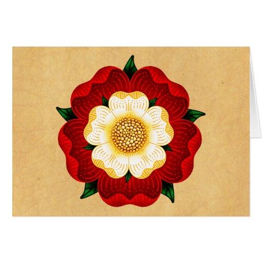 Tudor Rose Cards