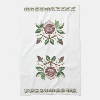Tudor Rose Hand Towel