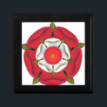 "Tudor Rose Keepsake Box<br><div class=""desc"">The Tudor dynasty or House of Tudor was a European royal house of Welsh origin descended from Prince Rhys ap Tewdwr, that ruled the Kingdom of England and its realms, including the Lordship of Ireland, later the Kingdom of Ireland, from 1485 until 1603. Its first monarch was Henry VII, a...</div>"