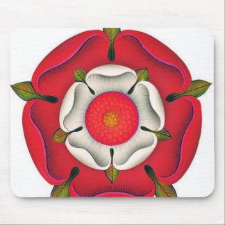 Tudor Rose Mouse Pad