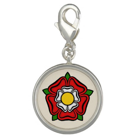 Tudor Rose of England, Emblem of Royalty Charm