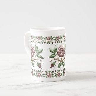Tudor Rose Porcelain Tea Mug