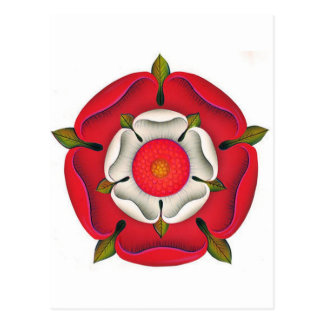 Tudor Rose Postcard