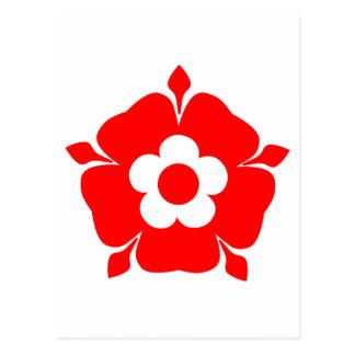 Tudor Rose. Postcard