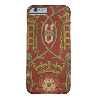'Tudor Rose', reproduction wallpaper designed by S Barely There iPhone 6 Case