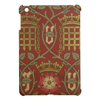 'Tudor Rose', reproduction wallpaper designed by S iPad Mini Cover