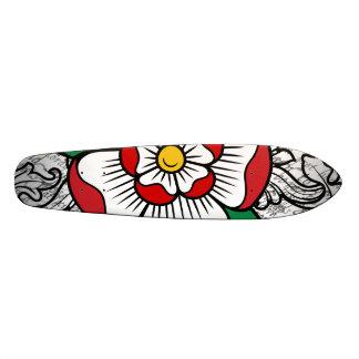 Tudor Rose Skateboard Deck