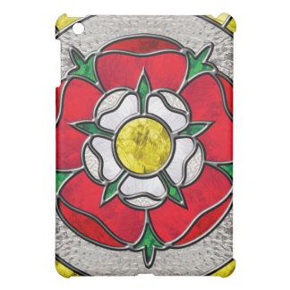 Tudor Rose Stained Glass Ipad case