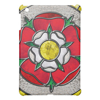 Tudor Rose Stained Glass Ipad case