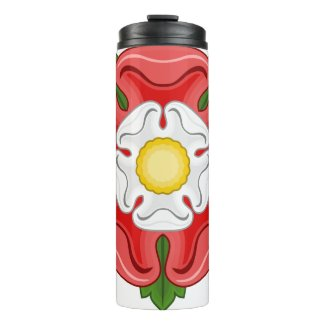 Tudor Rose Thermal Tumbler