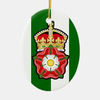 Tudor subió el ornamento del navidad ornamentos de reyes magos