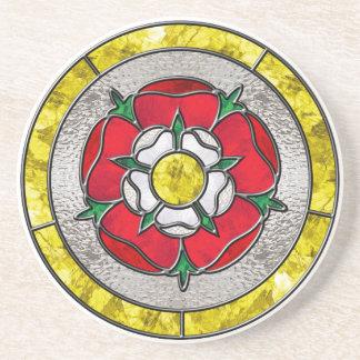 Tudor subió el vitral posavasos de arenisca