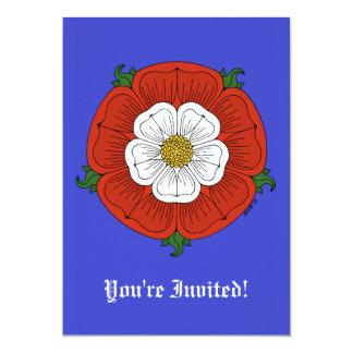 Tudor subió la invitación invitación 12,7 x 17,8 cm